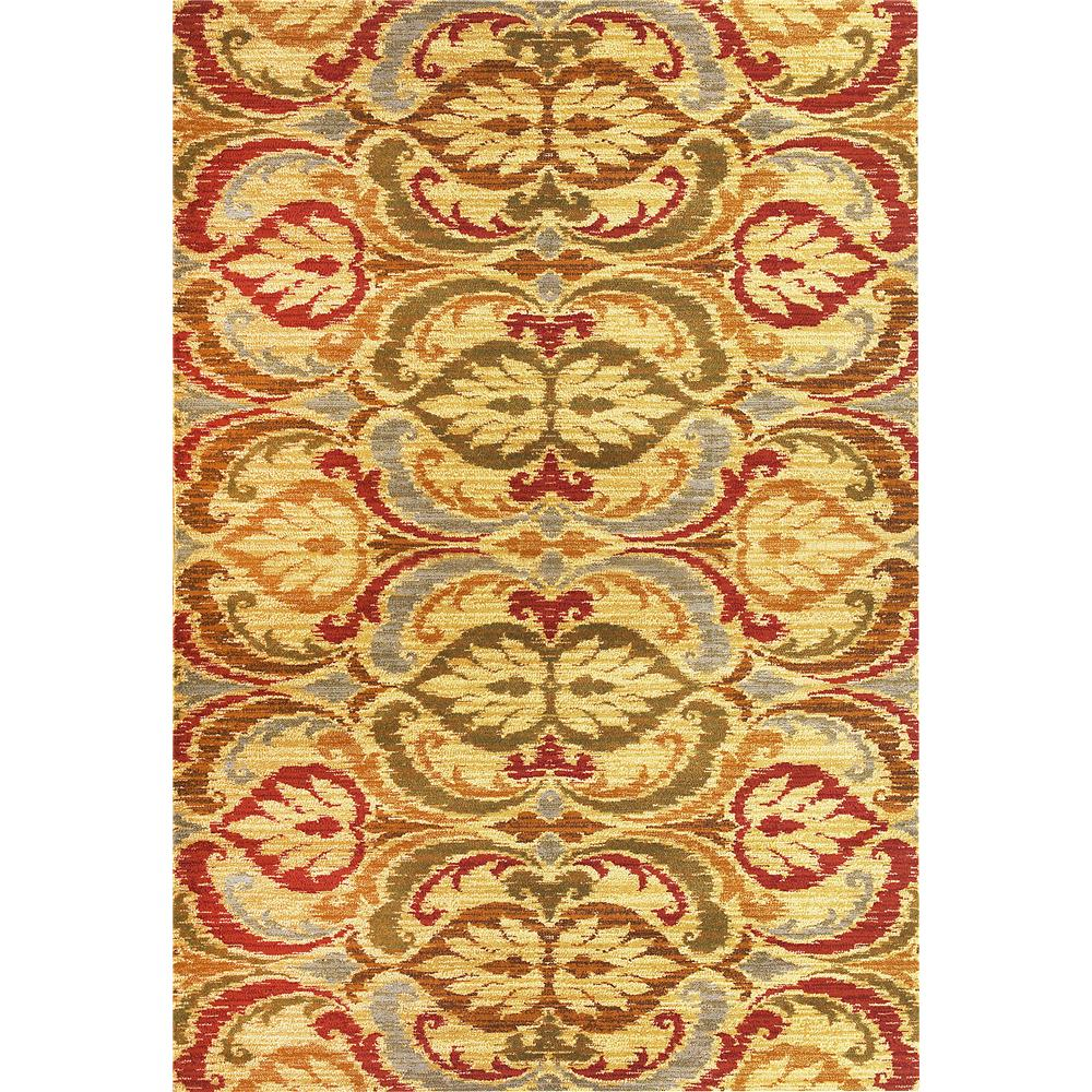 KAS 5466 Lifestyles 1 Ft. 11 In. X 2 Ft. 11 In. Rectangle Rug in Gold