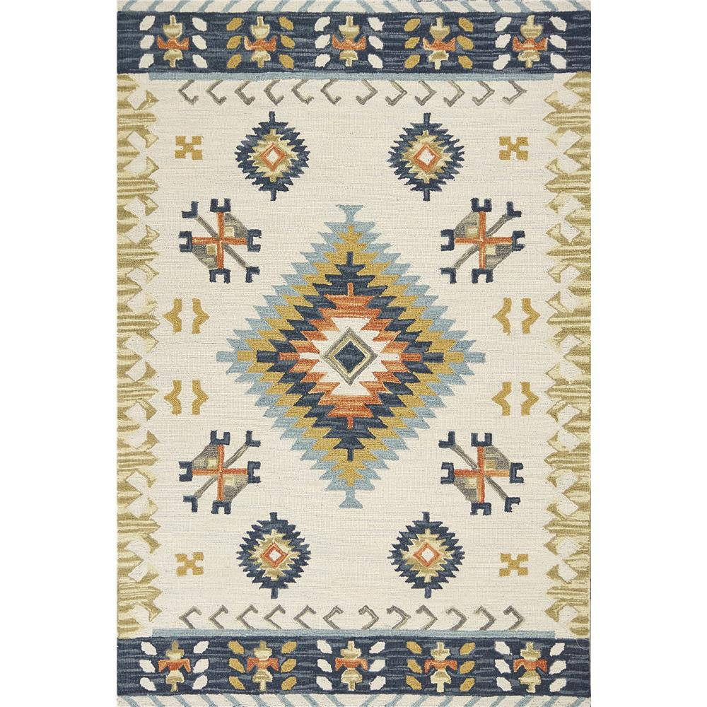 KAS 2905 Lisbon 5 Ft. X 7 Ft. 6 In. Rectangle Rug in Ivory