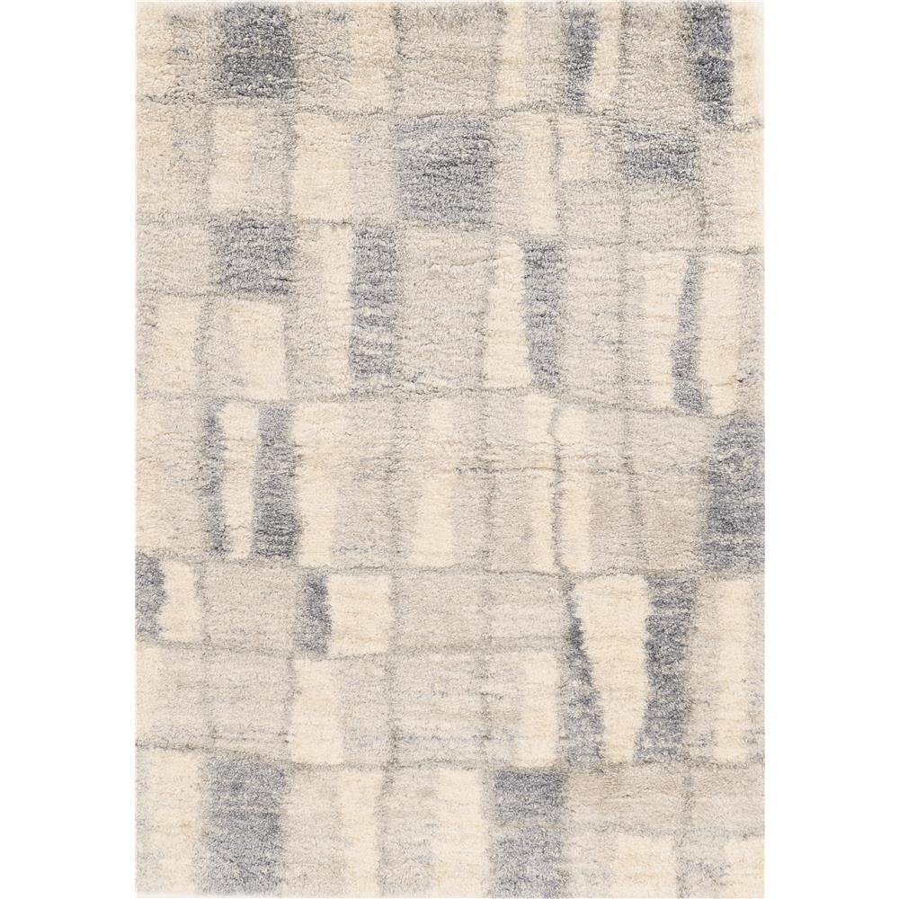 KAS 6702 Merino 3 Ft. 9 In. X 5 Ft. 11 In. Rectangle Rug in Ivory/Blue
