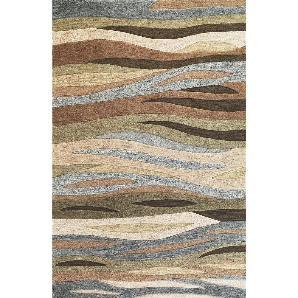 KAS 2108 Milan 5 Ft. X 7 Ft. 6 In. Rectangle Rug in Green