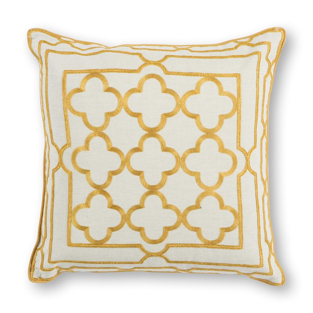 KAS PILL308 Square Pillow in Golds
