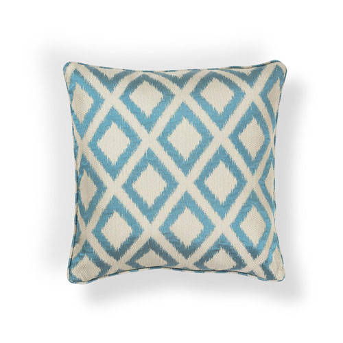 "KAS PILL242 20x20"" Pillow in Turquoise"