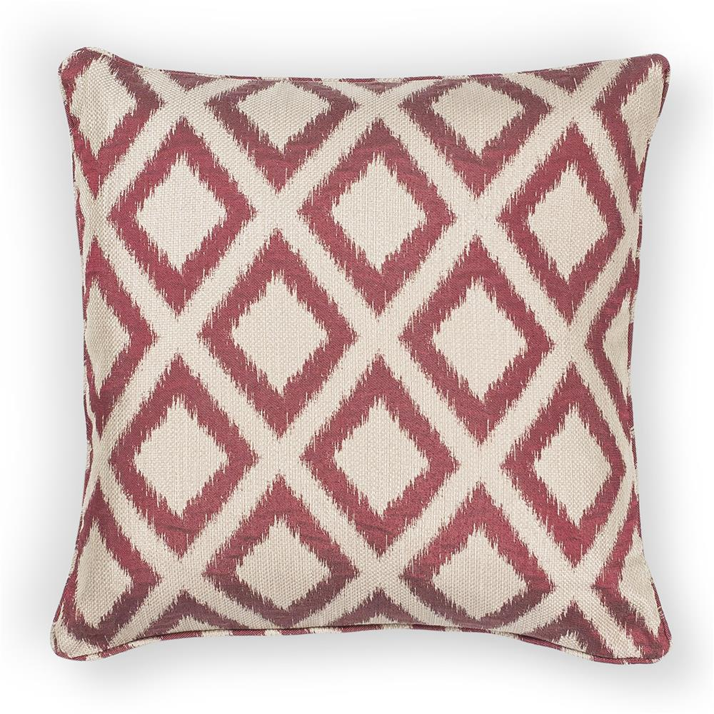 "KAS PILL243 20x20"" Pillow in Red"
