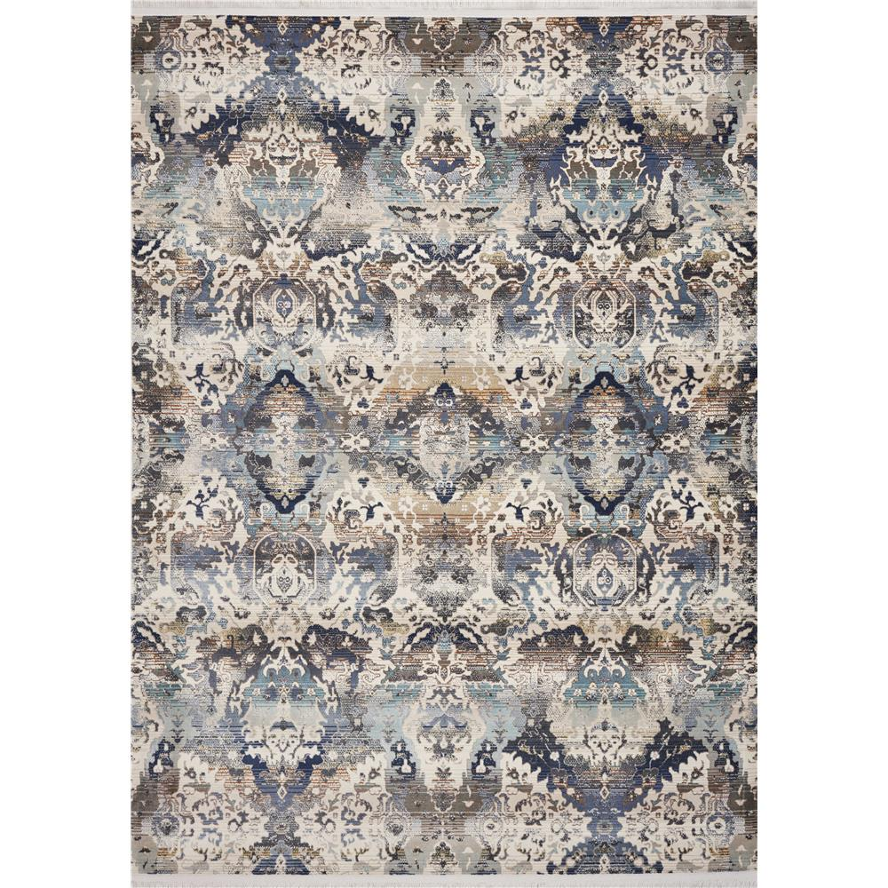 KAS 4523 Papillon 3 Ft. 3 In. X 4 Ft. 11 In. Rectangle Rug in Blue