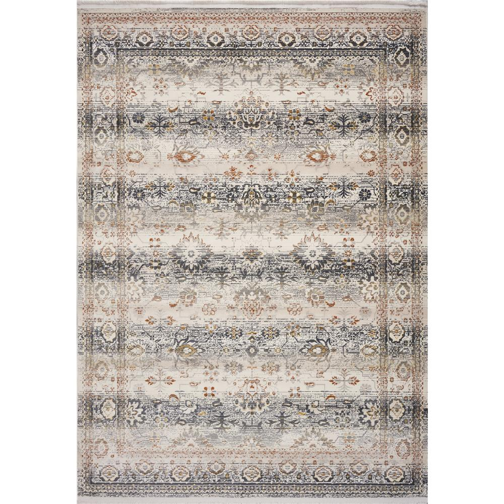 KAS 4529 Papillon 2 Ft. 7 In. X 9 Ft. 10 In. Runner Rug in Ivory