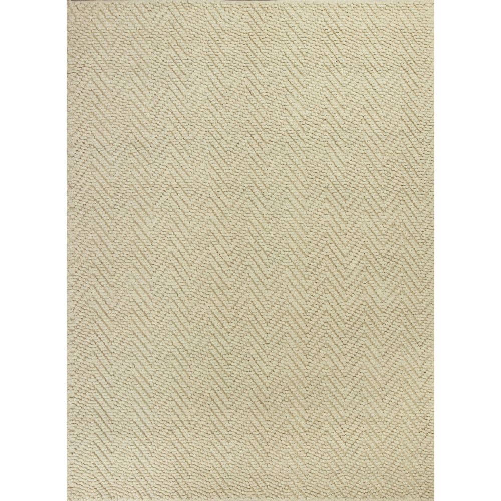 KAS 1220 Porto 2 Ft. X 7 Ft. 6 In. Runner Rug in Ivory