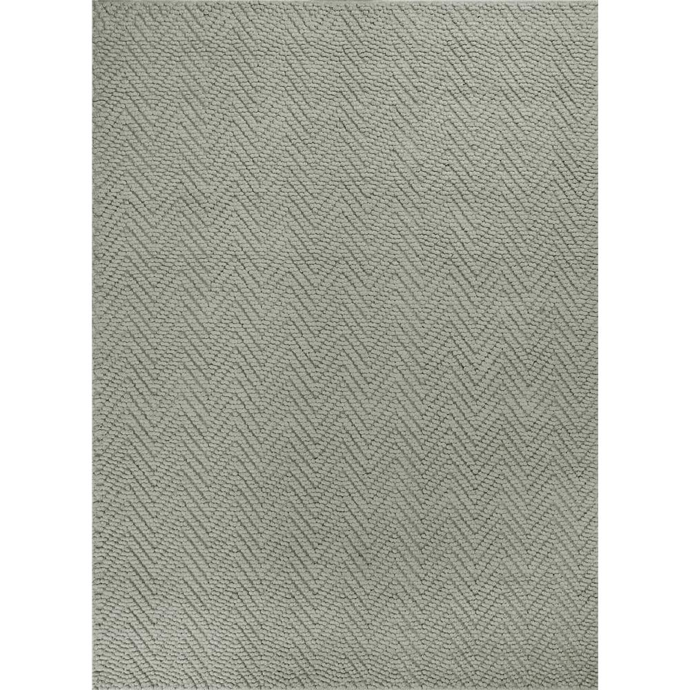 KAS 1224 Porto 2 Ft. 3 In. X 3 Ft. 9 In. Rectangle Rug in Grey