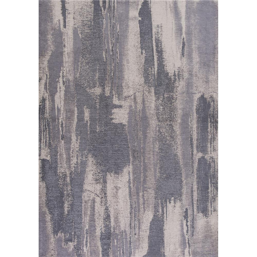 KAS RET0100 Retreat 2 Ft. 2 In. X 7 Ft. 6 In. Runner Rug in Grey