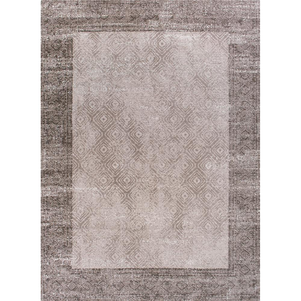 KAS RET0114 Retreat 6 Ft. 7 In. X 9 Ft. 6 In. Rectangle Rug in Taupe
