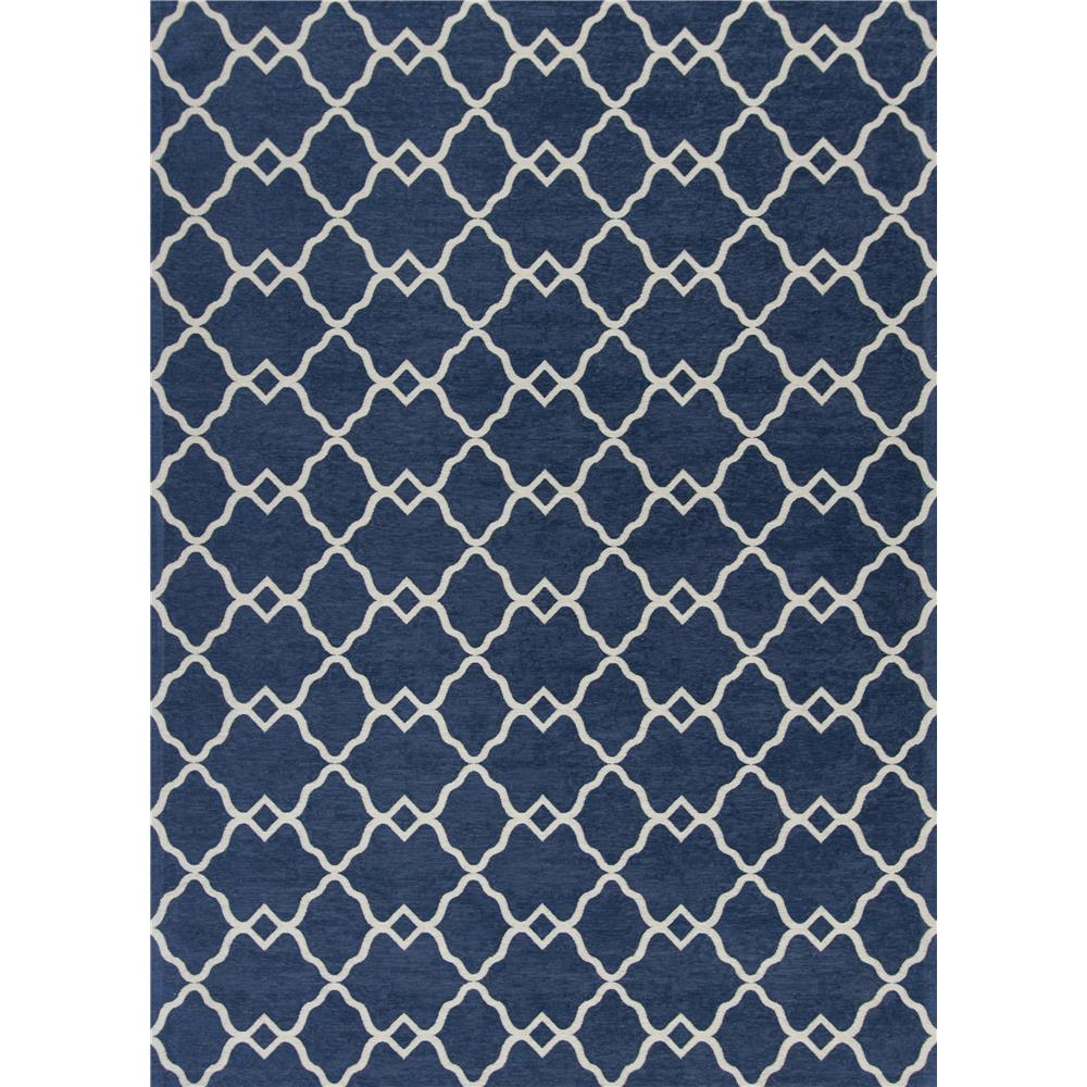 KAS 0126 Retreat 1 Ft. 8 In. X 2 Ft. 7 In. Rectangle Rug in Navy