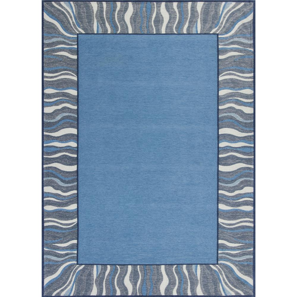 KAS 0128 Retreat 1 Ft. 8 In. X 2 Ft. 7 In. Rectangle Rug in Denim