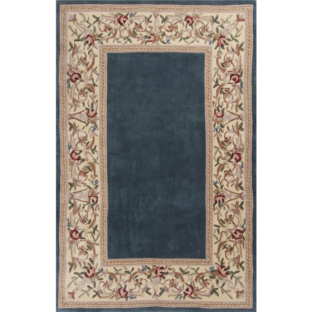 KAS 8940 Ruby 2 Ft. 6 In. X 4 Ft. 2 In. Rectangle Rug in Slate Blue