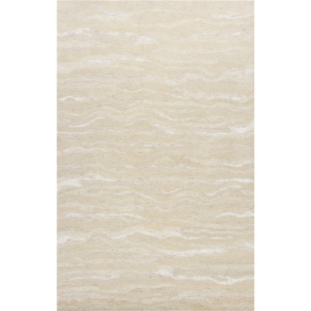 KAS 1251 Serenity 3 Ft. 3 In. X 5 Ft. 3 In. Rectangle Rug in Ivory