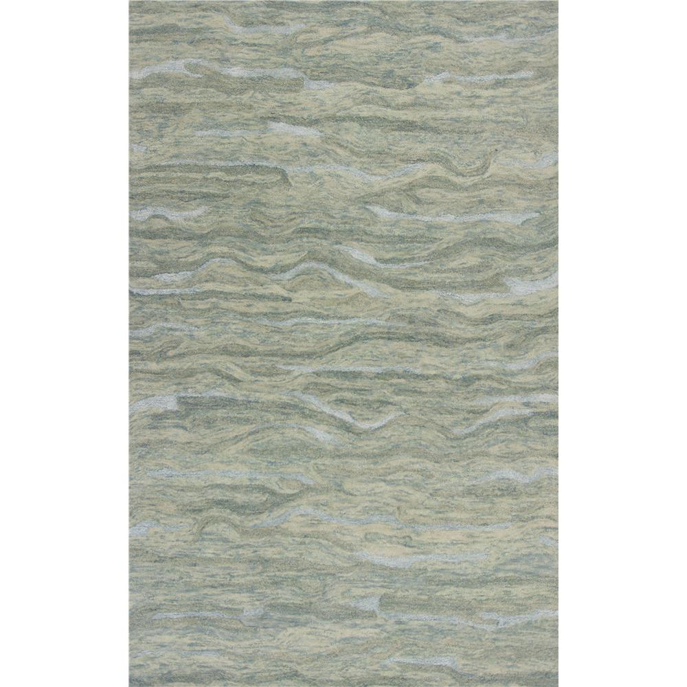 KAS 1252 Serenity 3 Ft. 3 In. X 5 Ft. 3 In. Rectangle Rug in Seafoam
