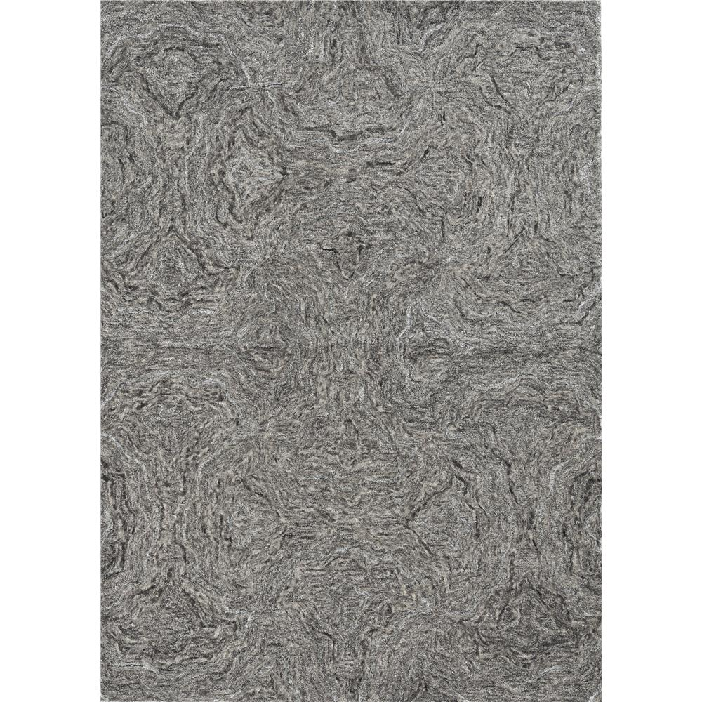 KAS 1258 Serenity 3 Ft. 3 In. X 5 Ft. 3 In. Rectangle Rug in Grey