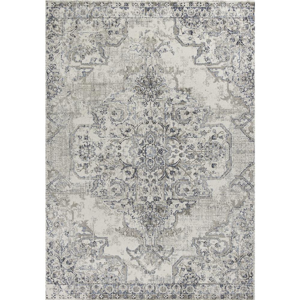 KAS SEI9471 Seville 2 Ft. 2 In. X 7 Ft. 6 In. Runner Rug in Neutrals