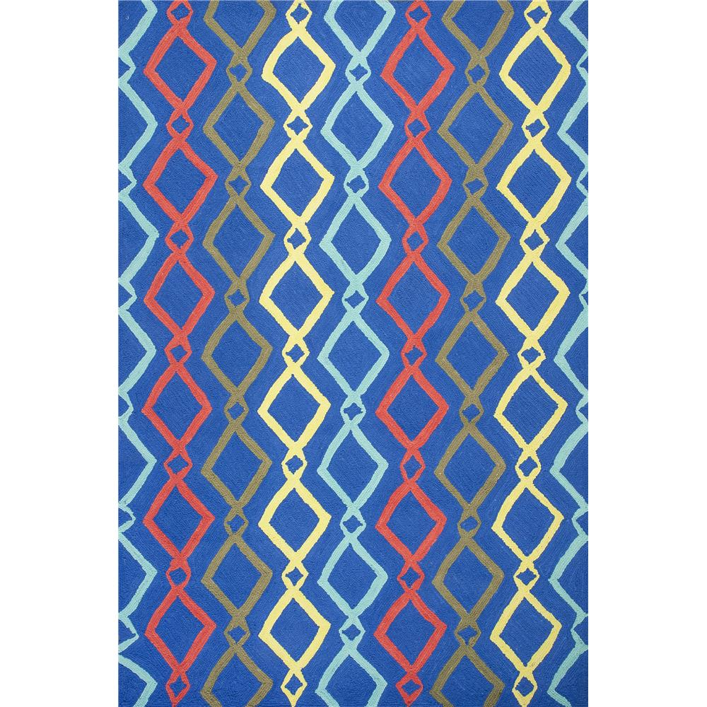 KAS 6301 Shelby 5 Ft. X 7 Ft. Rectangle Rug in Blue