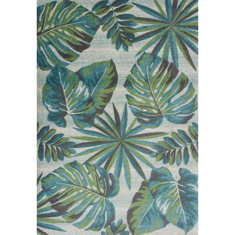 KAS 6253 Stella 3 Ft. 3 In. X 4 Ft. 11 In. Rectangle Rug in Teal/Green