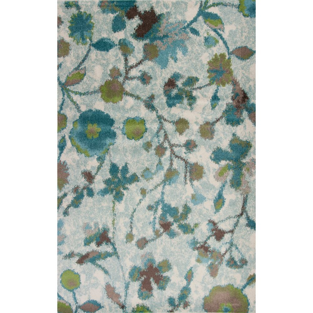 KAS 6258 Stella 3 Ft. 3 In. X 4 Ft. 11 In. Rectangle Rug in Teal