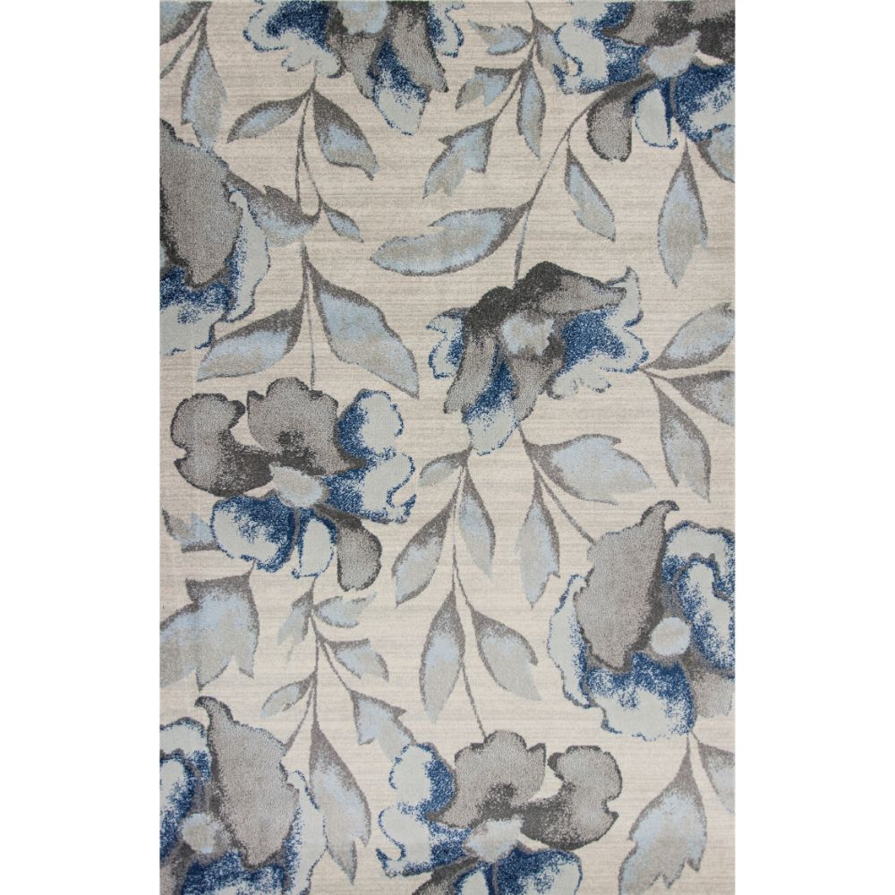 KAS 6261 Stella 3 Ft. 3 In. X 4 Ft. 11 In. Rectangle Rug in Grey/Blue