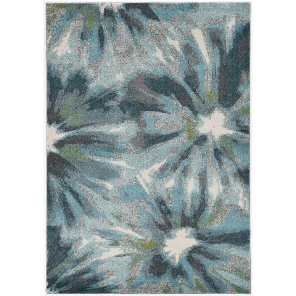 KAS 6264 Stella 3 Ft. 3 In. X 4 Ft. 11 In. Rectangle Rug in Teal