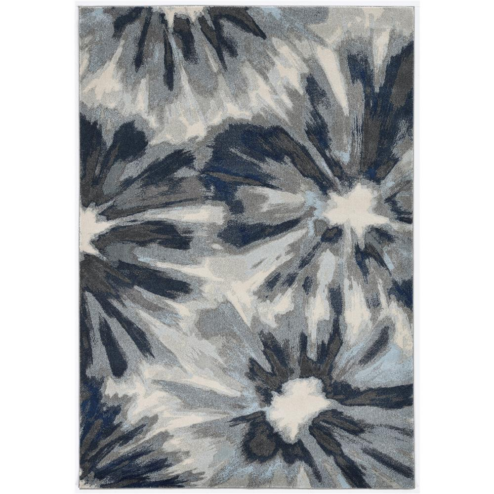 KAS 6265 Stella 3 Ft. 3 In. X 4 Ft. 11 In. Rectangle Rug in Ivory Blue