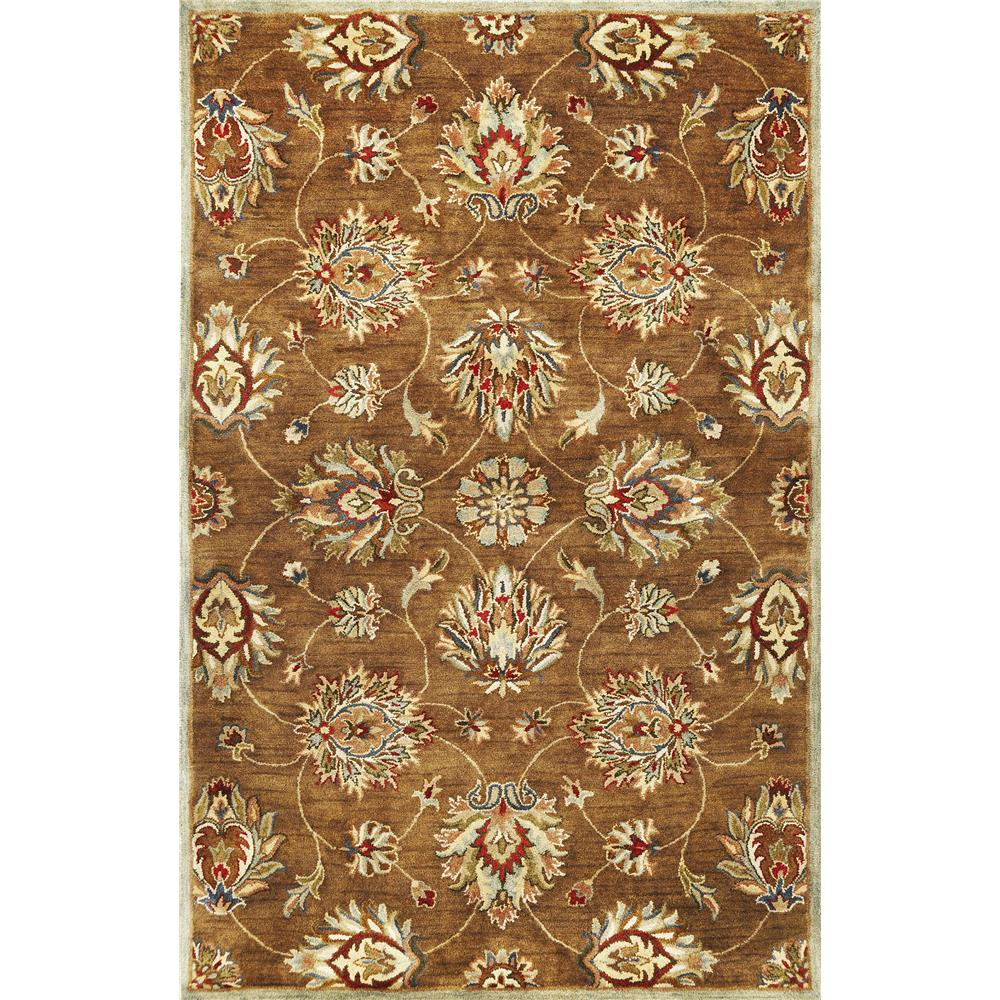 KAS 6004 Syriana 3 Ft. 3 In. X 5 Ft. 3 In. Rectangle Rug in Coffee