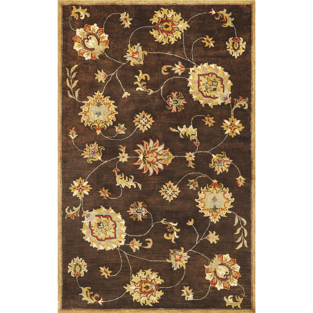 KAS 6007 Syriana 9 Ft. X 13 Ft. Rectangle Rug in Mocha