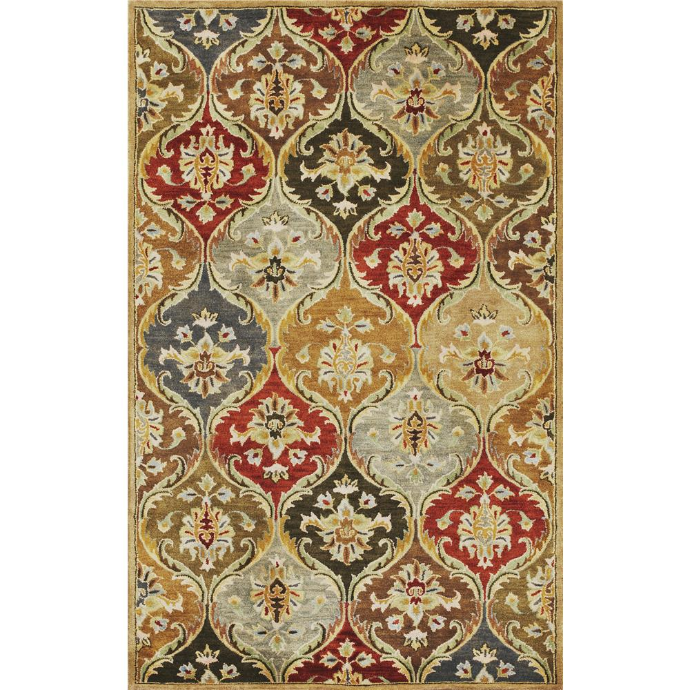 KAS 6019 Syriana 3 Ft. 3 In. X 5 Ft. 3 In. Rectangle Rug in Jeweltone