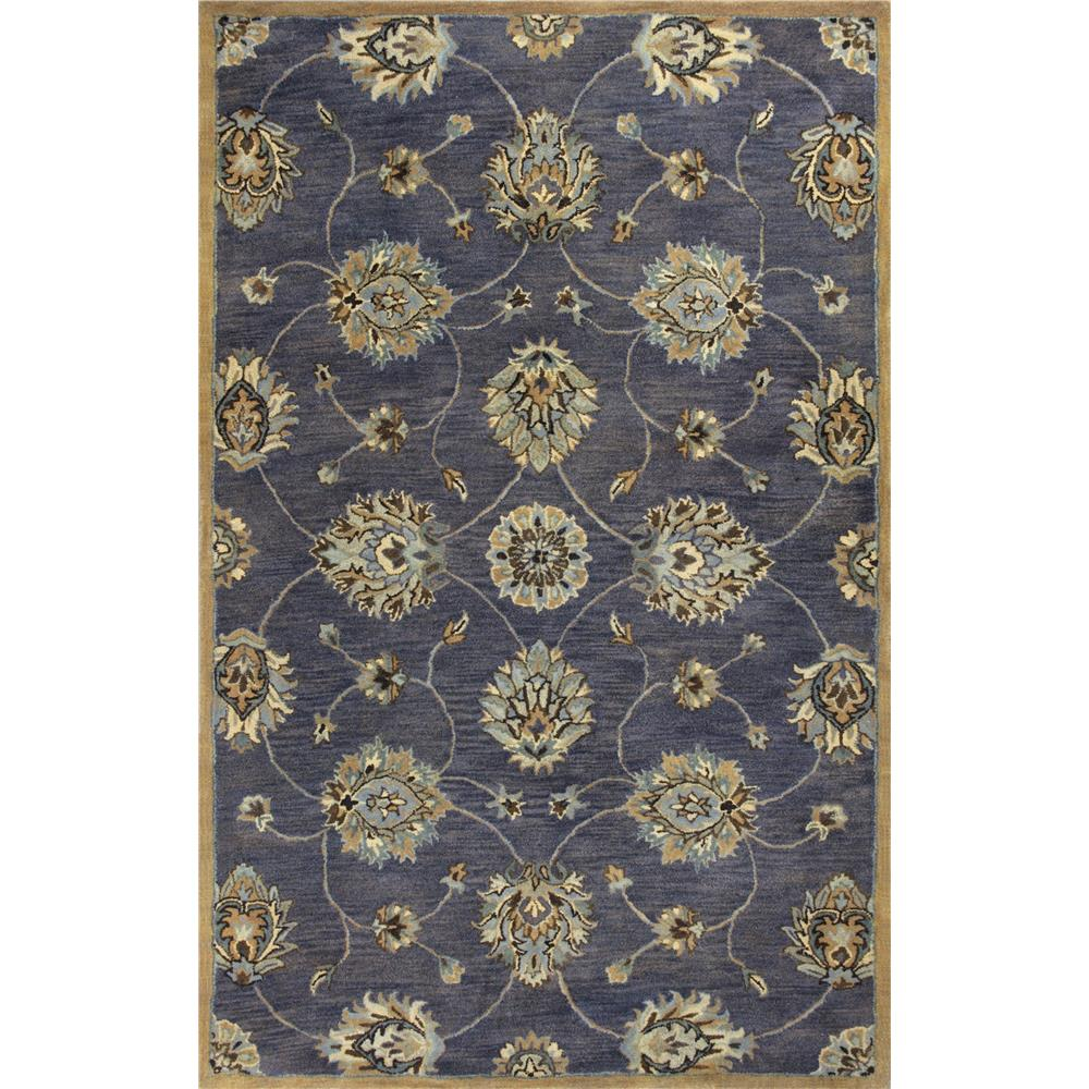 KAS 6024 Syriana 2 Ft. 3 In. X 7 Ft. 6 In. Runner Rug in Midnight