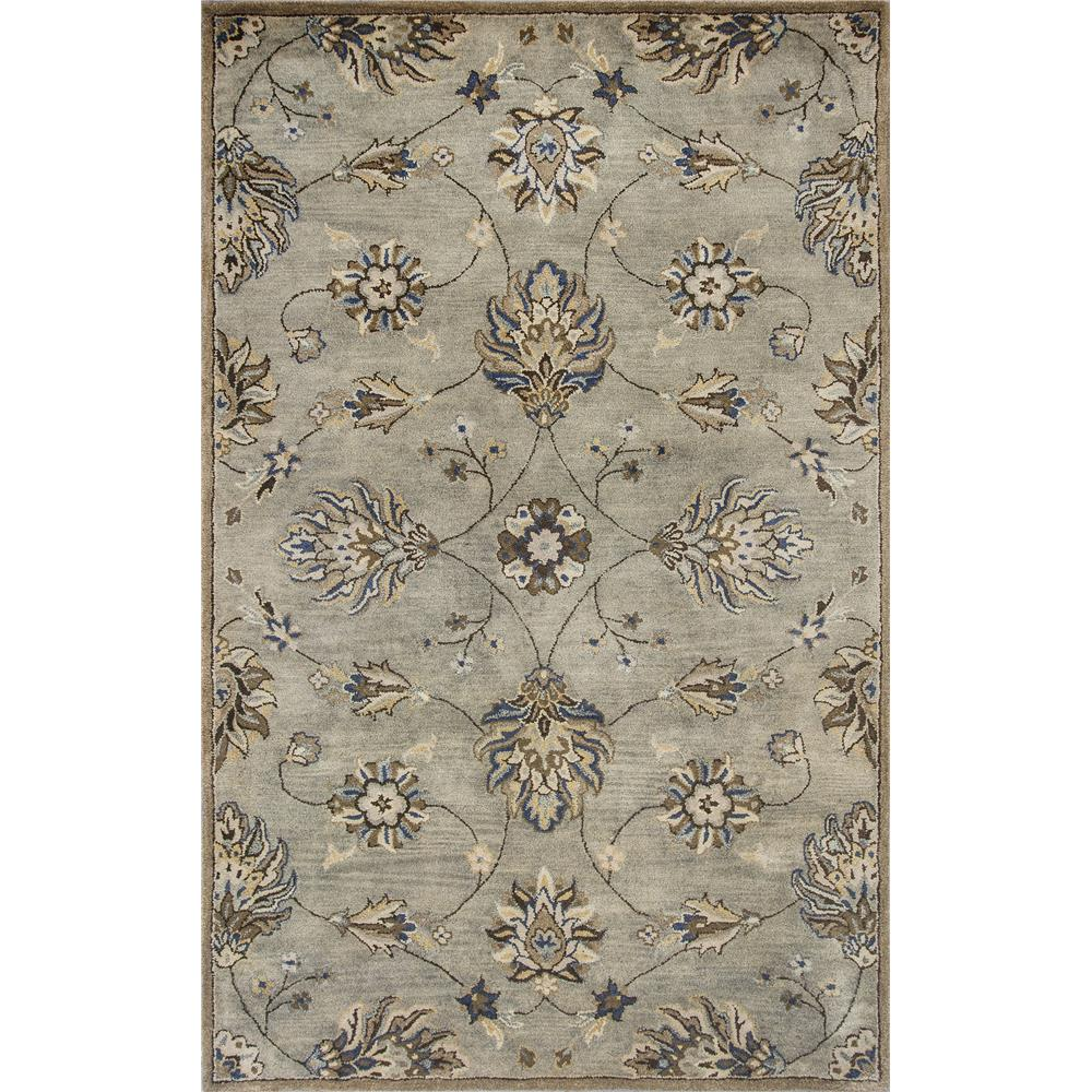 KAS 6028 Syriana 2 Ft. 3 In. X 7 Ft. 6 In. Runner Rug in Gray