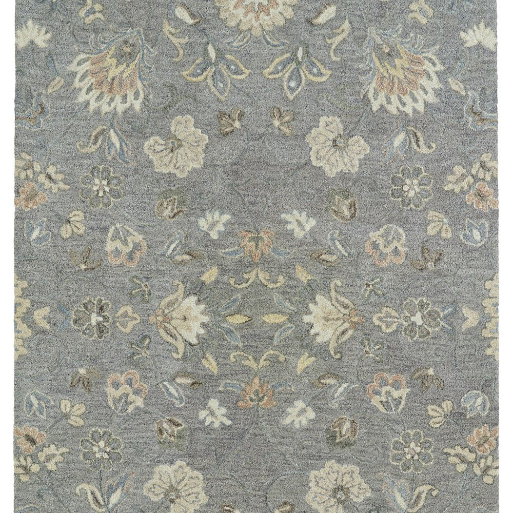 Kaleen Rugs 3208-75 Helena 2 Ft. X 3 Ft. Rectangle Rug in Grey