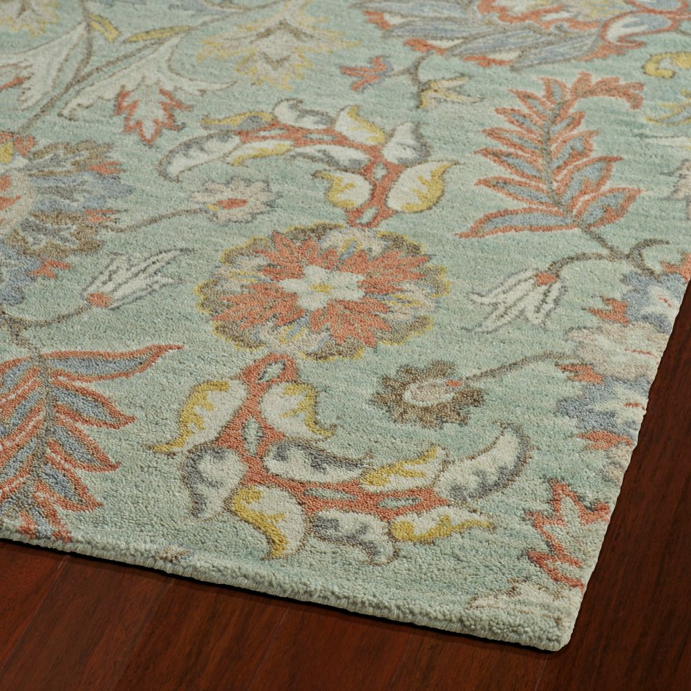 Kaleen Rugs 3212-88 Helena 2 Ft. X 3 Ft. Rectangle Rug in Mint