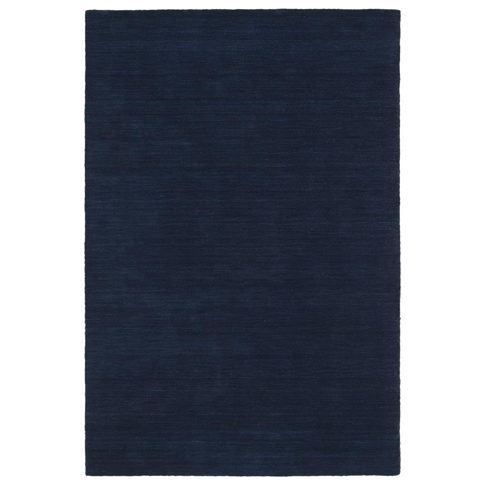 Kaleen Rugs 4500-22 Renaissance Collection 7 Ft 6 In x 9 Ft Rectangle Rug in Navy