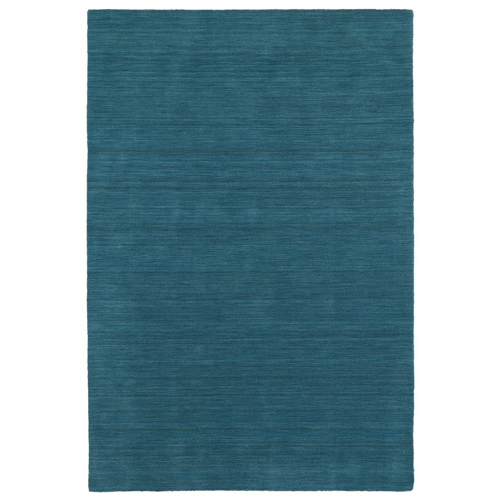 Kaleen Rugs 4500-78 Renaissance Collection 3 Ft x 5 Ft Rectangle Rug in Turquoise