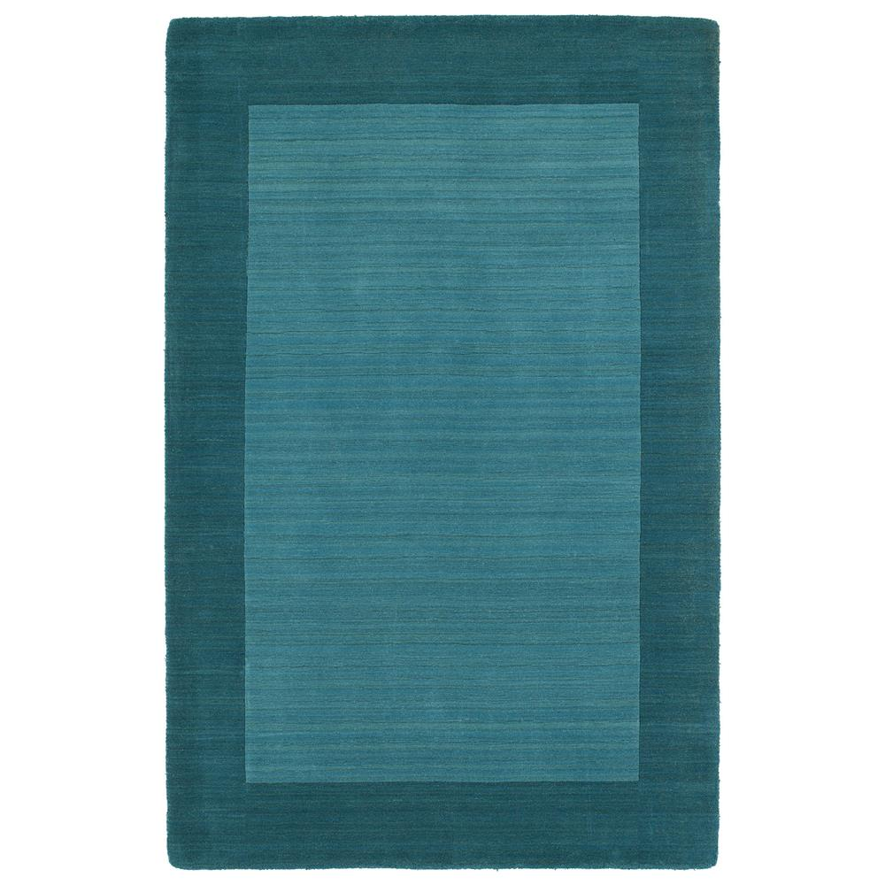 Kaleen Rugs 7000-78 Regency 3 Ft. 6 In. X 5 Ft. 3 In. Rectangle Rug in Turquoise