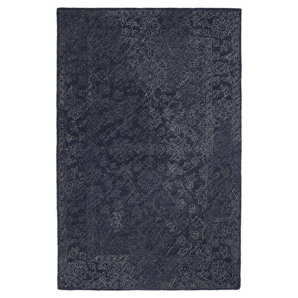 Kaleen Rugs MTG09-10 Montage Collection 9 Ft x 12 Ft Rectangle Rug in Denim