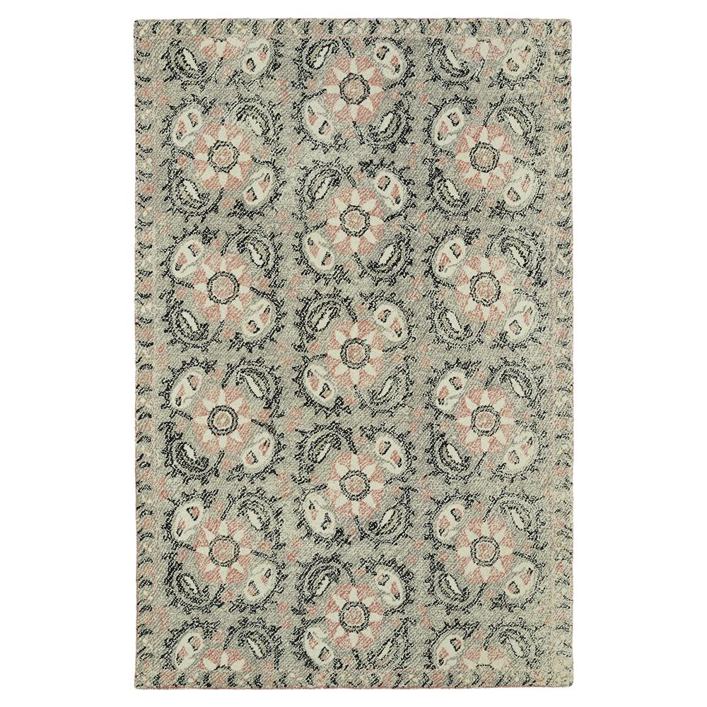 Kaleen Rugs MTG10-75 Montage 8 Ft. X 10 Ft. Rectangle Rug in Grey