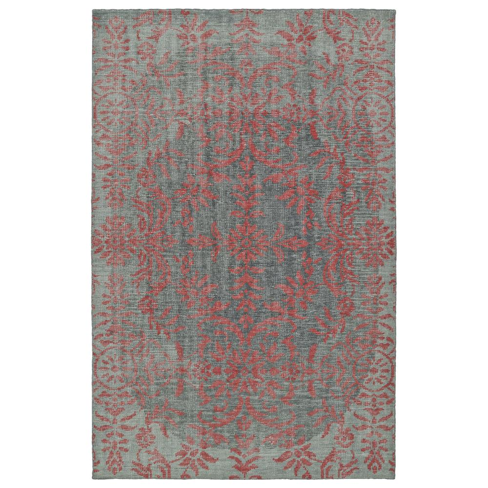 Kaleen Rugs RLC08-92 Relic Collection 8 Ft x 10 Ft Rectangle Rug in Pink