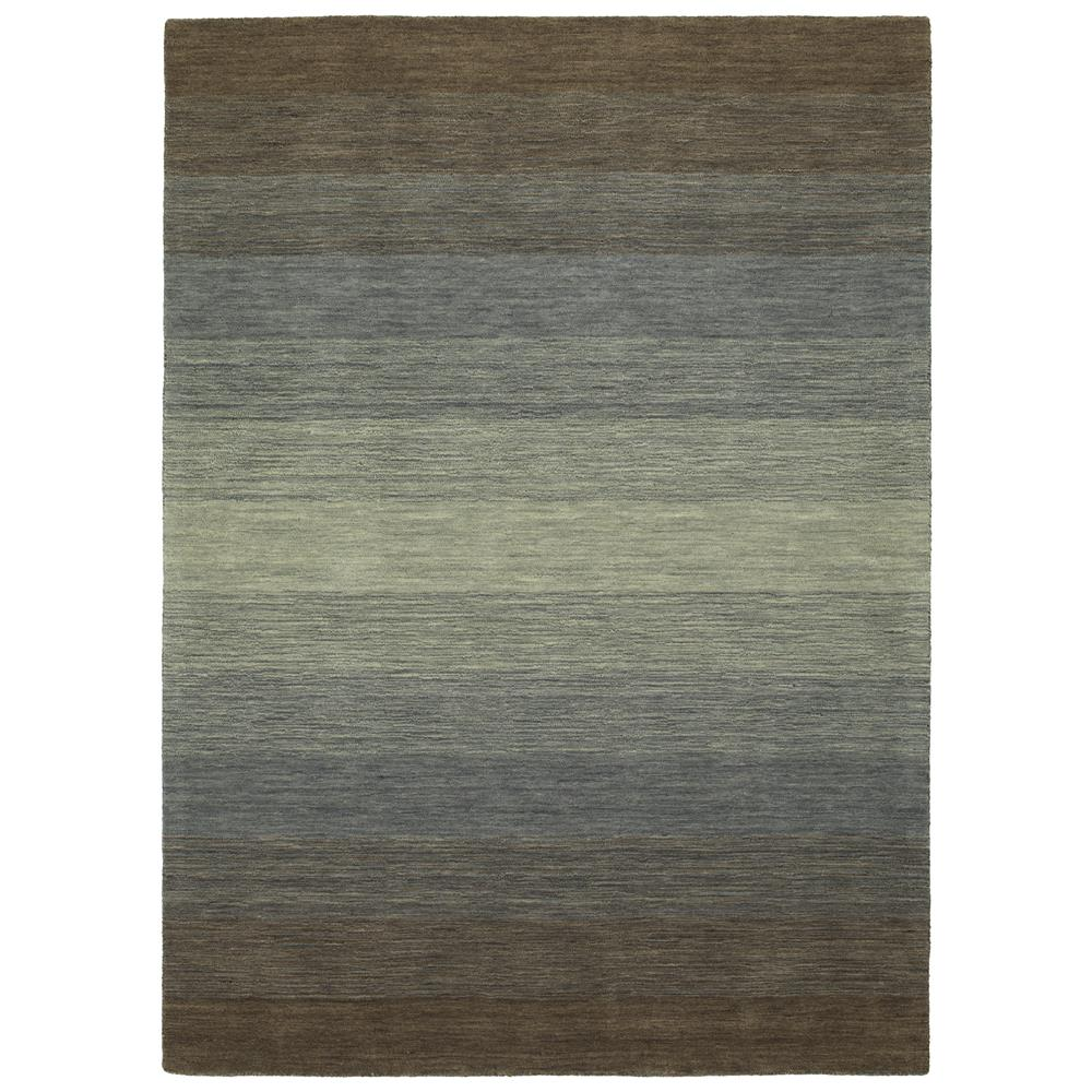 Kaleen Rugs SHD01-49 Shades 5 Ft. X 7 Ft. 6 In. Rectangle Rug in Brown