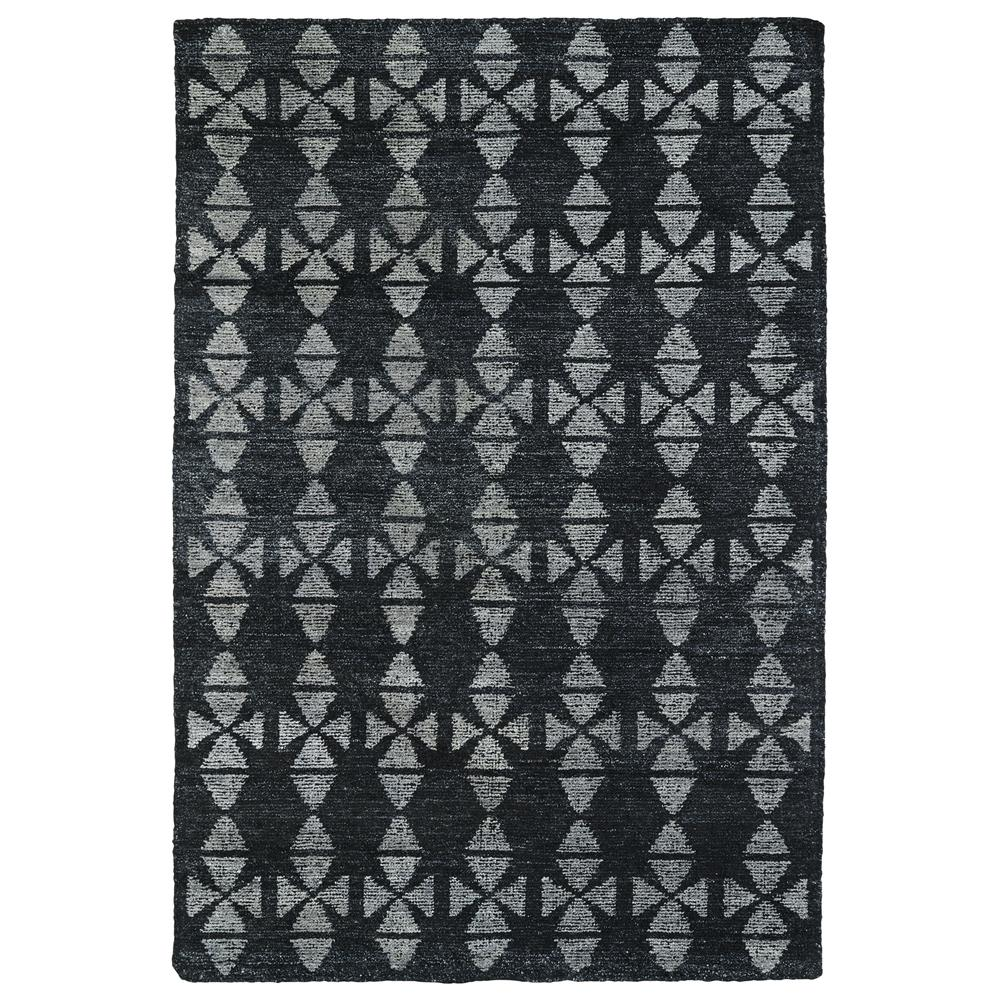 Kaleen Rugs SOL02-38 Solitaire Collection 9 Ft 6 In x 13 Ft Rectangle Rug in Charcoal