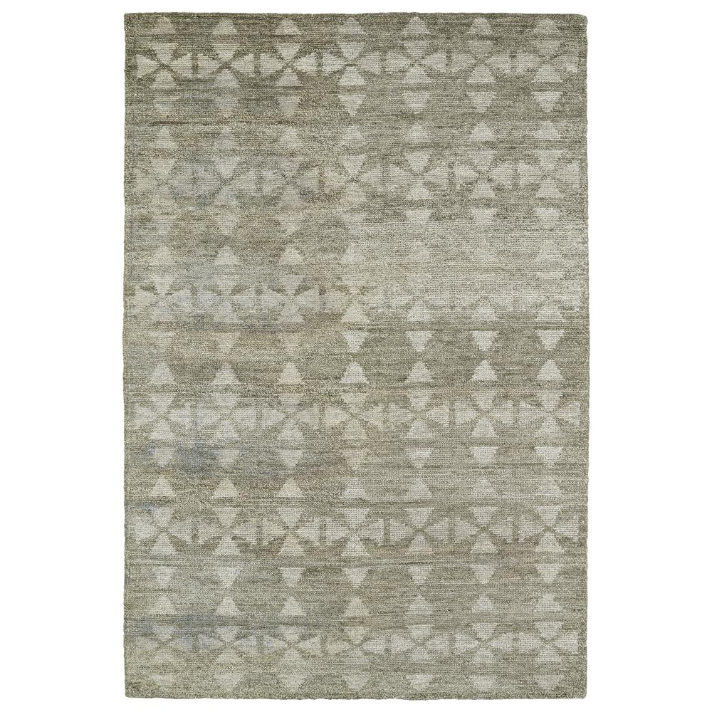 Kaleen Rugs SOL02-84 Solitaire 2 Ft. X 3 Ft. Rectangle Rug in Oatmeal
