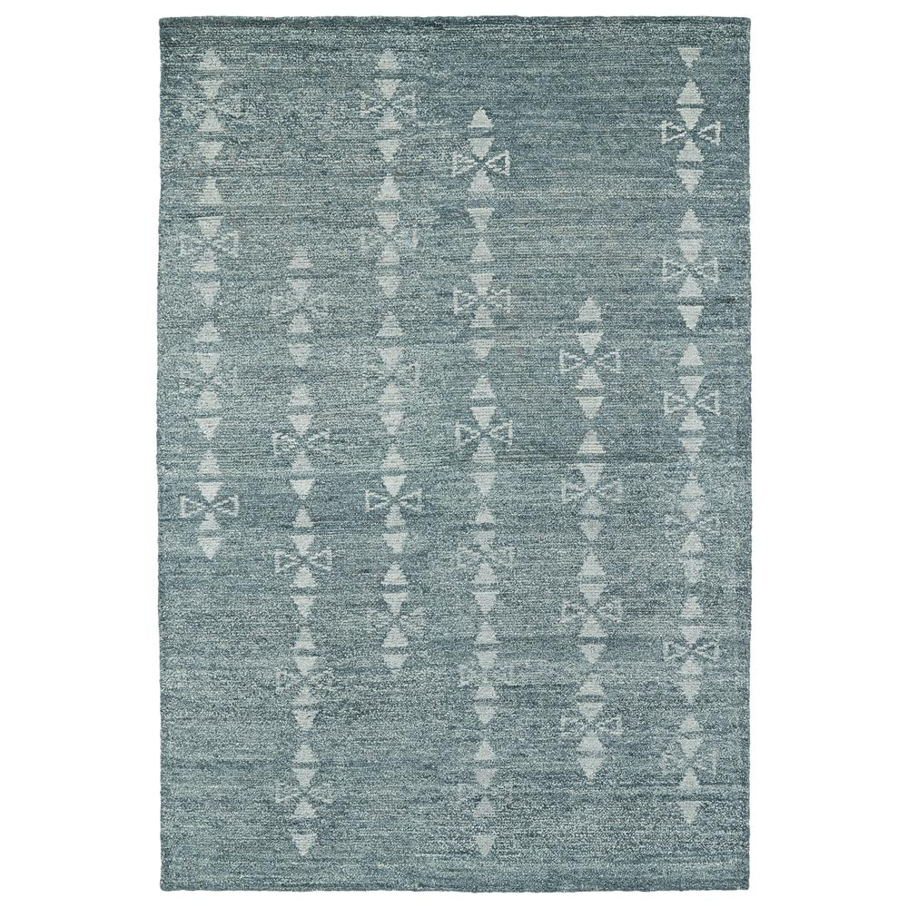 Kaleen Rugs SOL03-100 Solitaire Collection 4 Ft x 6 Ft Rectangle Rug in Ice