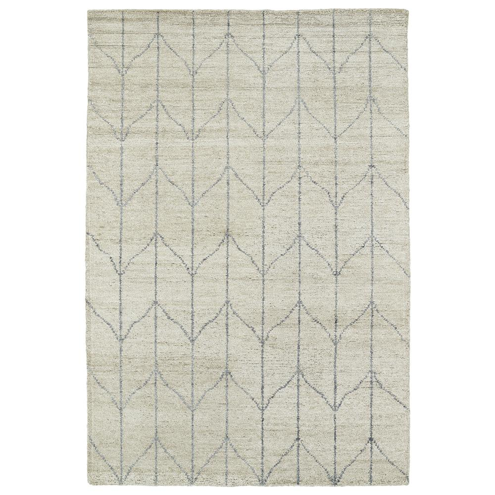 Kaleen Rugs SOL05-29 Solitaire Collection 8 Ft x 11 Ft Rectangle Rug in Sand