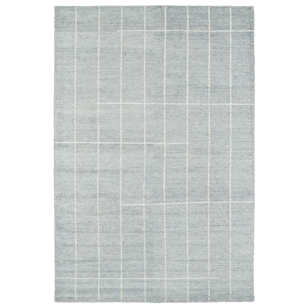 Kaleen Rugs SOL06-34 Solitaire 2 Ft. X 3 Ft. Rectangle Rug in Glacier