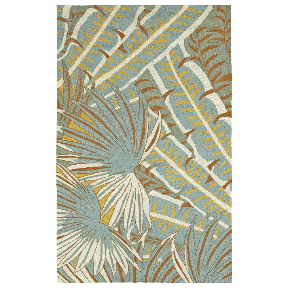 Kaleen Rugs YUN01-01 Yunque 5 Ft. X 7 Ft. 6 In. Rectangle Indoor/Outdoor Rug in Ivory