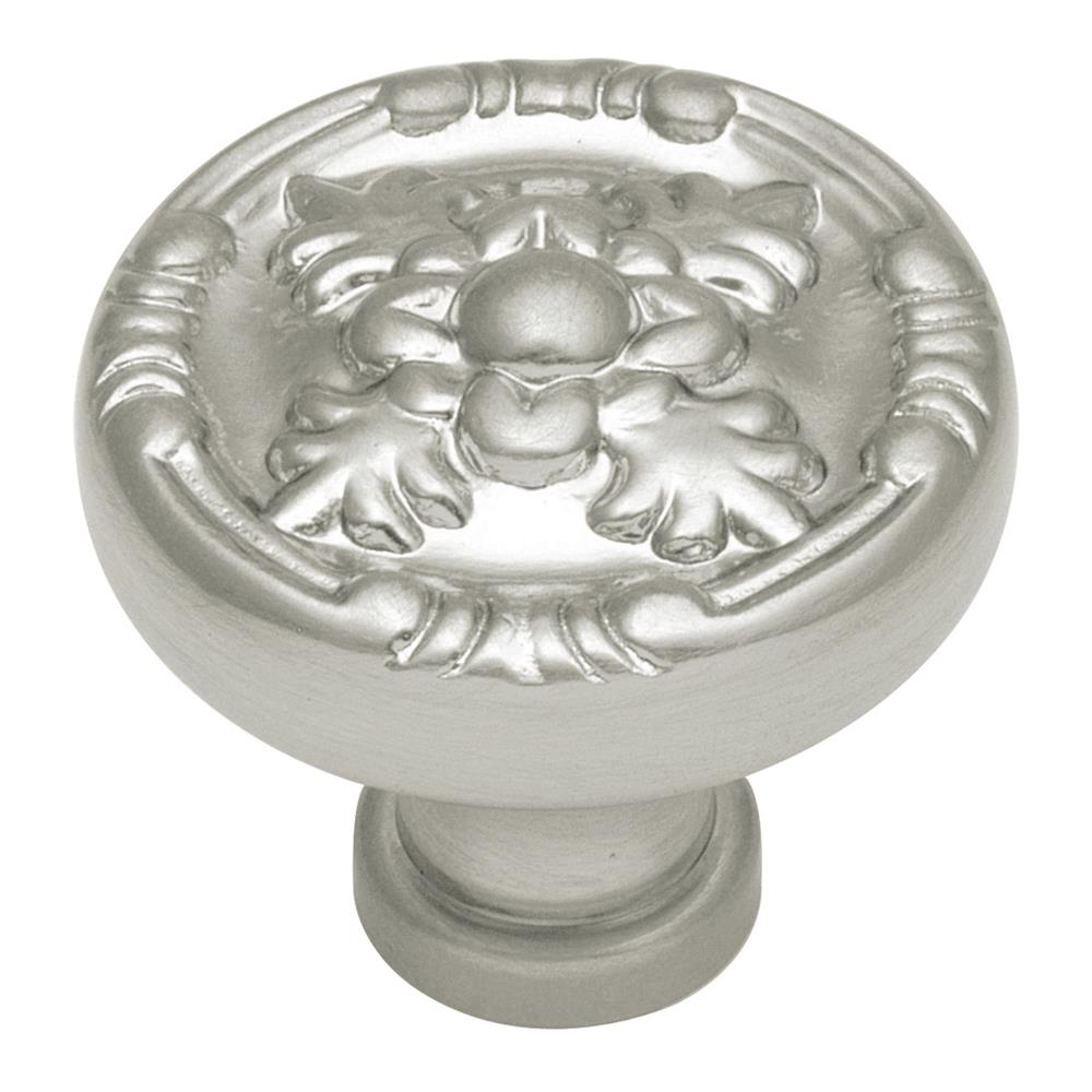 Keeler F406 1-1/4 In. Satin Nickel Richelieu Solid Brass Cabinet Knob