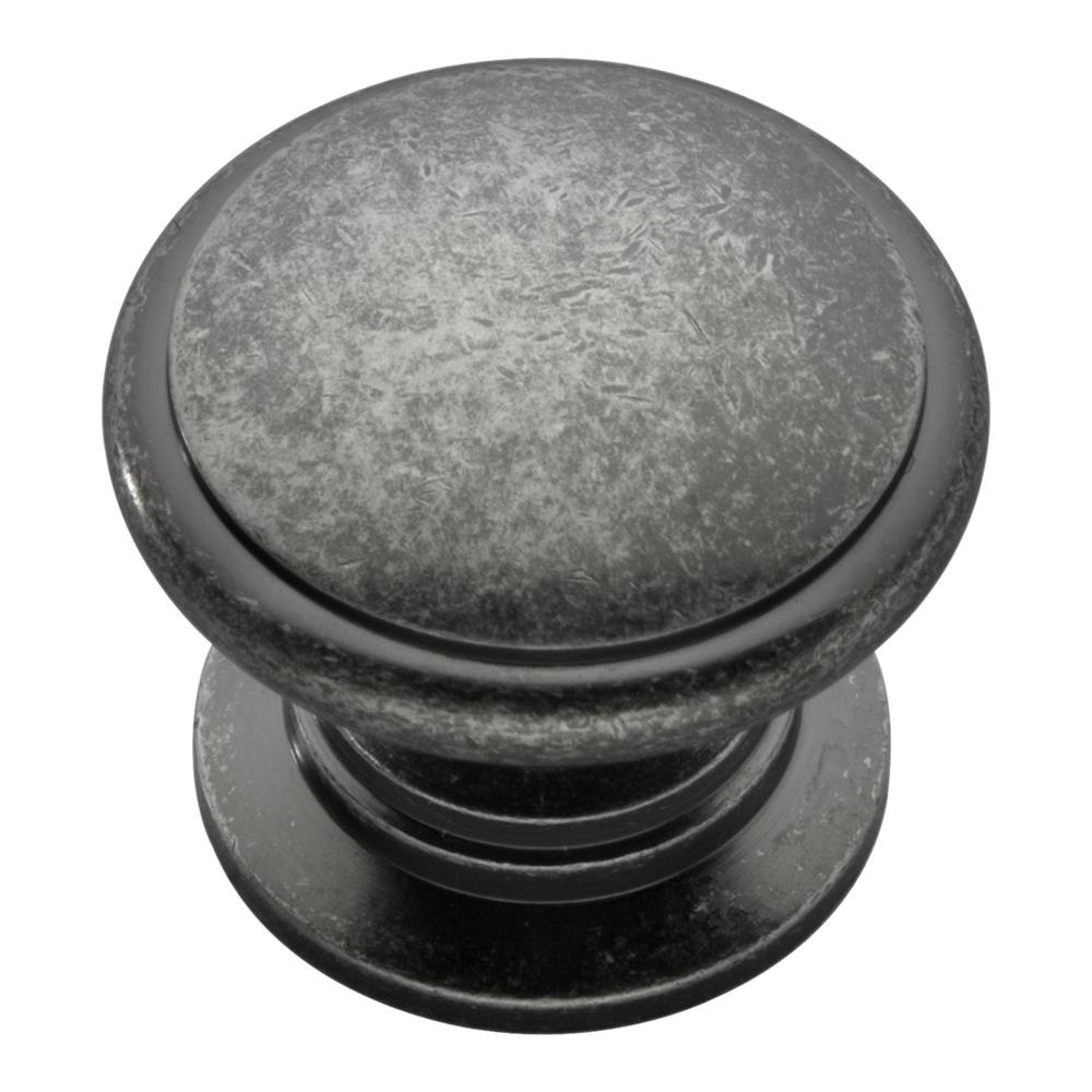 Keeler K44-BNV 1-1/4 In. Black Nickel Vibed Prestige Solid Brass Cabinet Knob