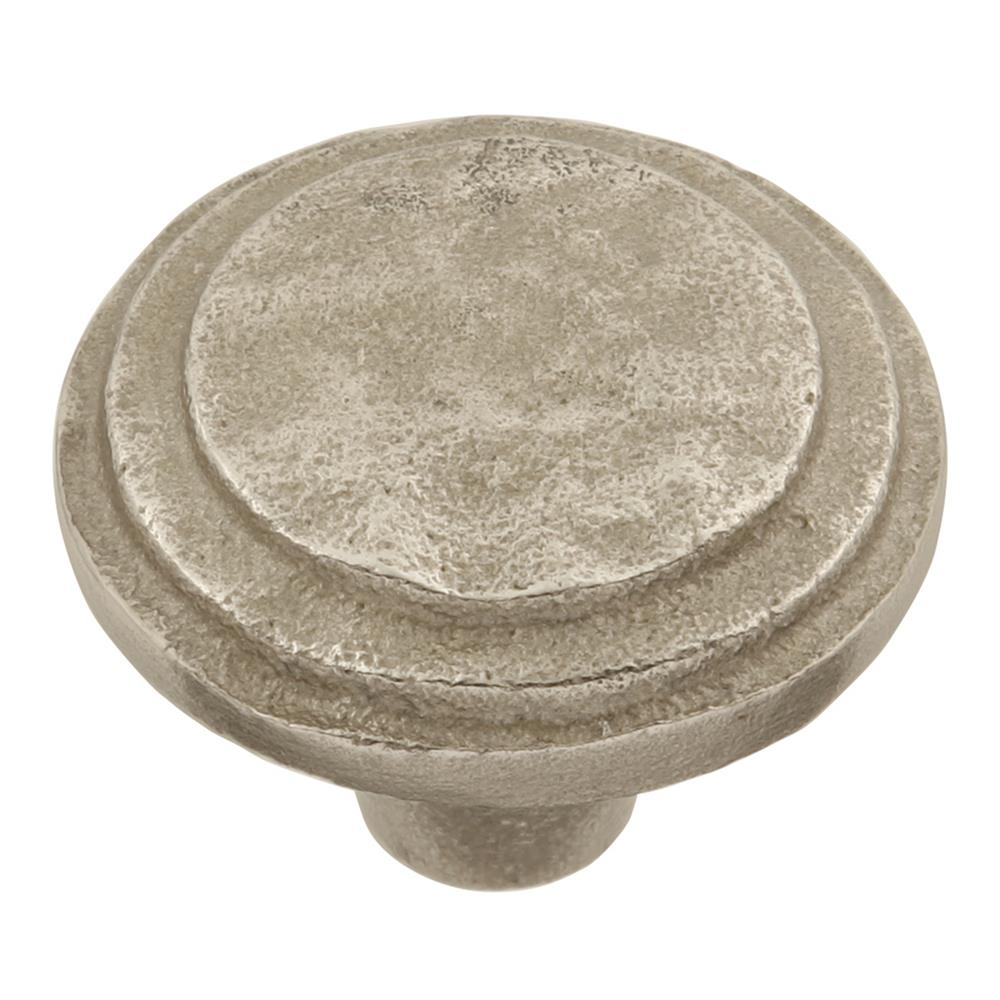 Keeler p6205-9300 Riverside Collection Knob 1-5/8 Inch Diameter Natural White Bronze Finish