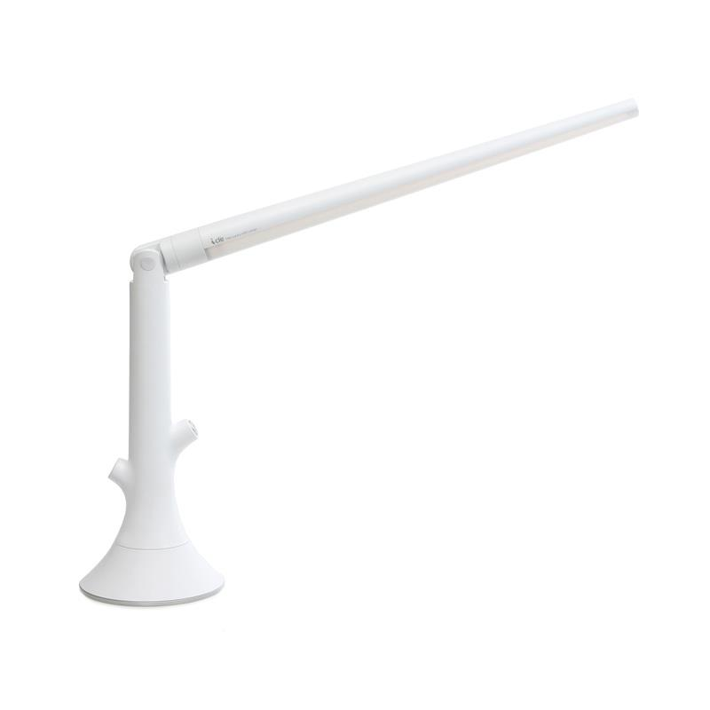 Kendal Lighting PTL4083-WH SKY series 20 in. White LED Task Lamp with Swivel Neck